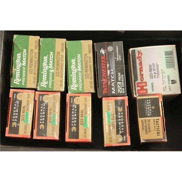 Mixed Brands Premium 223 Remington Ammo