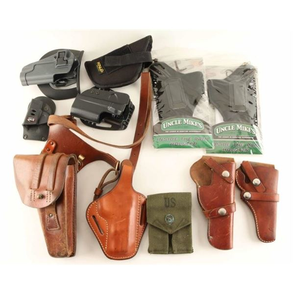 Lot of Miscellaneous Holsters