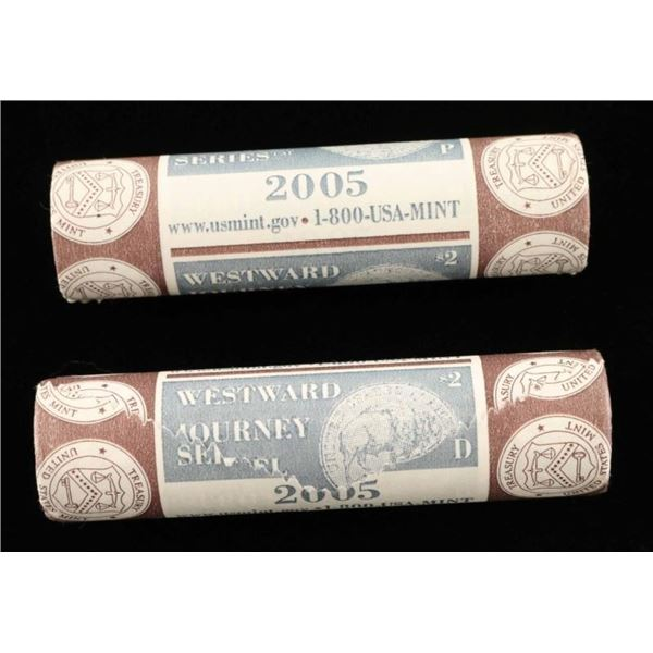 (2) $2 Rolls of 2005 Buffalo Nickels
