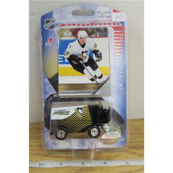 Crosby 2006 Zamboni + Rookie Card