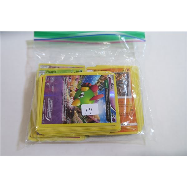 Bag Of More Than 50 Pokemon Cards