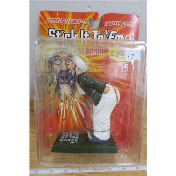 2003 Osama Bin Ladin Pin Cushion Novelty Doll