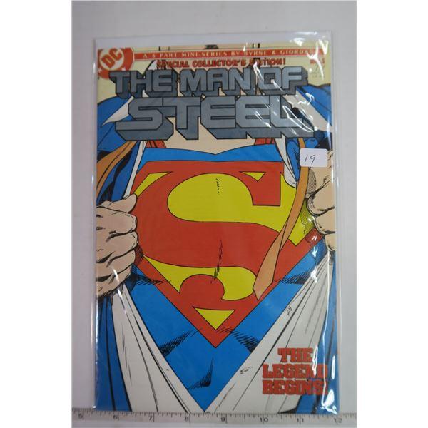 Man of Steel #1 1980s Comic Book