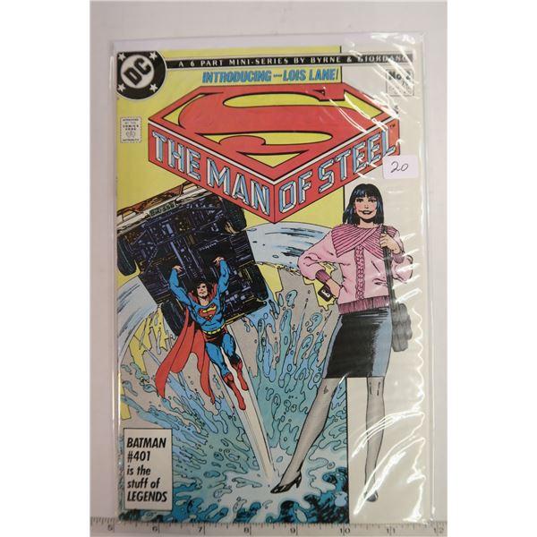 Man of Steel #2 1980s Comic Book