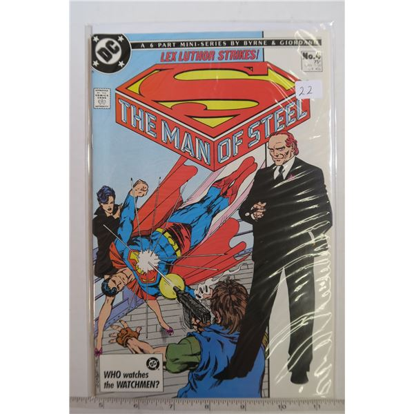 Man of Steel #4 1980s Comic Book