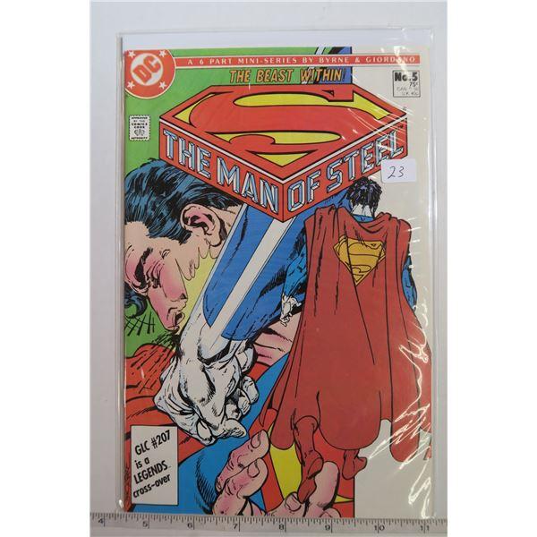 Man of Steel #5 1980s Comic Book