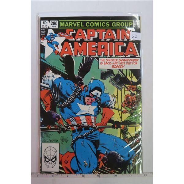 Captain America #280 April 1983 Comic Book