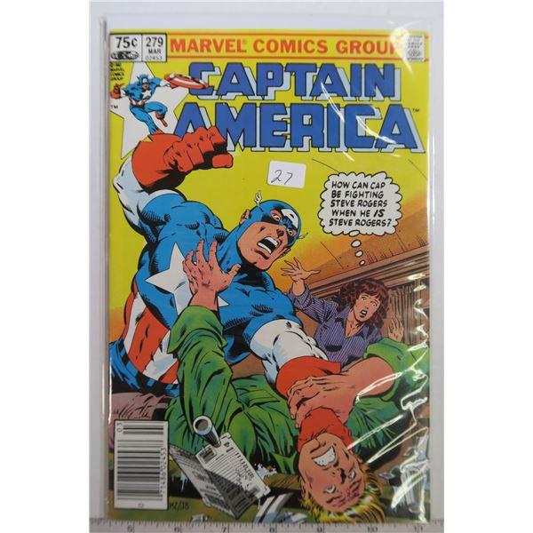 Captain America #279 Mar 1983 Comic Book