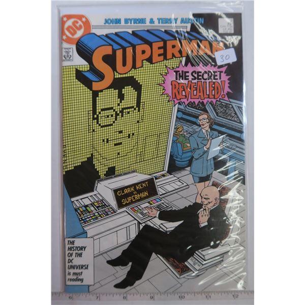 Superman #2 Feb 1987 Byrne & Austin