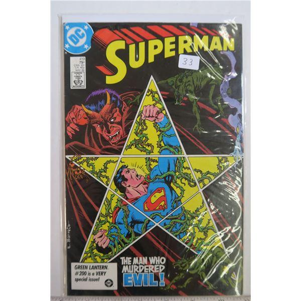 Superman #419 May 1986