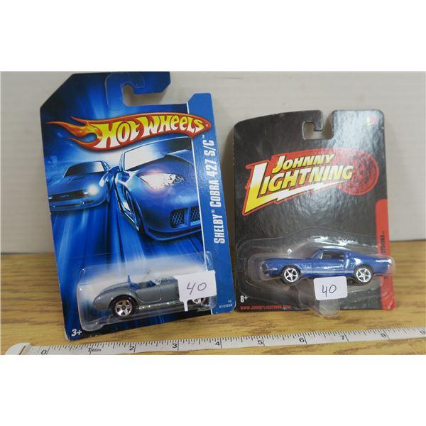 Johnny Lightning 68 Shelby & Hotwheels Shelby 427 S/C