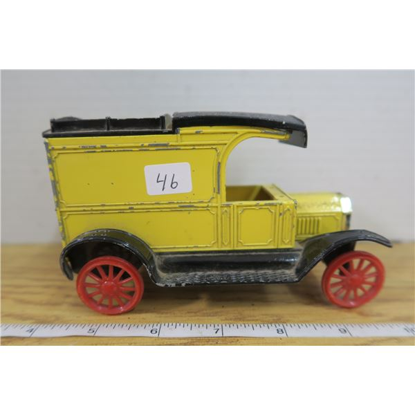 1913 Ford Model T Van (Piggy Bank - Metal)