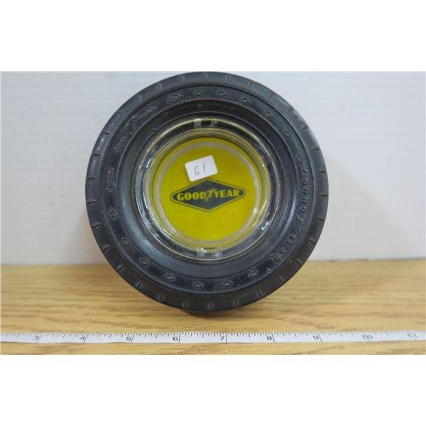"Goodyear Tire Ashtray ""Mint"""