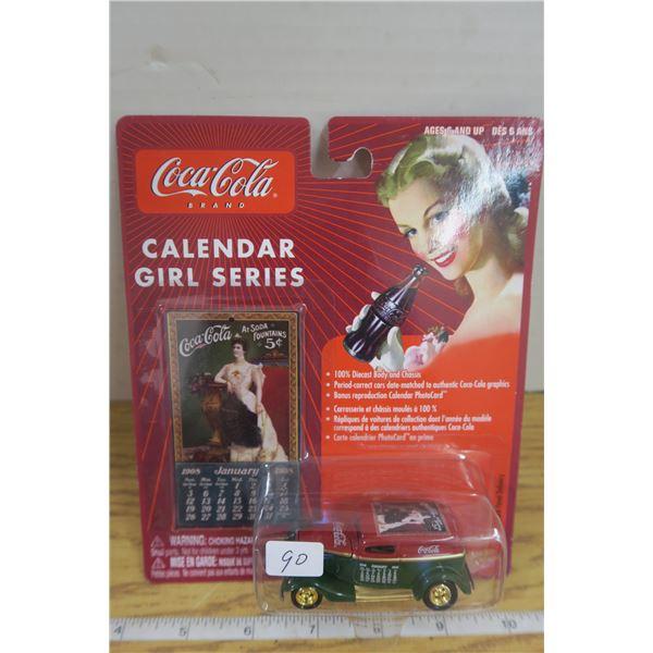 Coca Cola Panel + Calendar