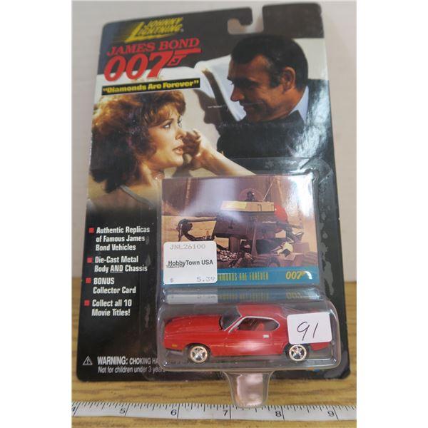 """Johnny Lightning 007 Mustang """"Diamonds are Forever"""""""
