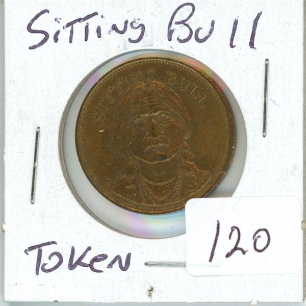 Sitting Bull token 'rare'