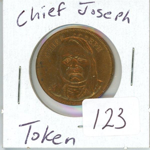 Chief Joseph token 'rare'