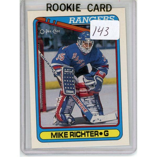 Gradable rookie card  - Mike Richter #330