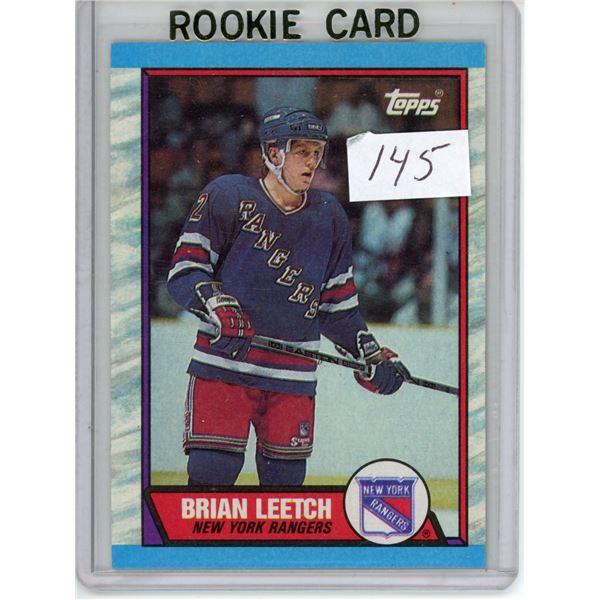 Gradable rookie card -  Brian Leech #136