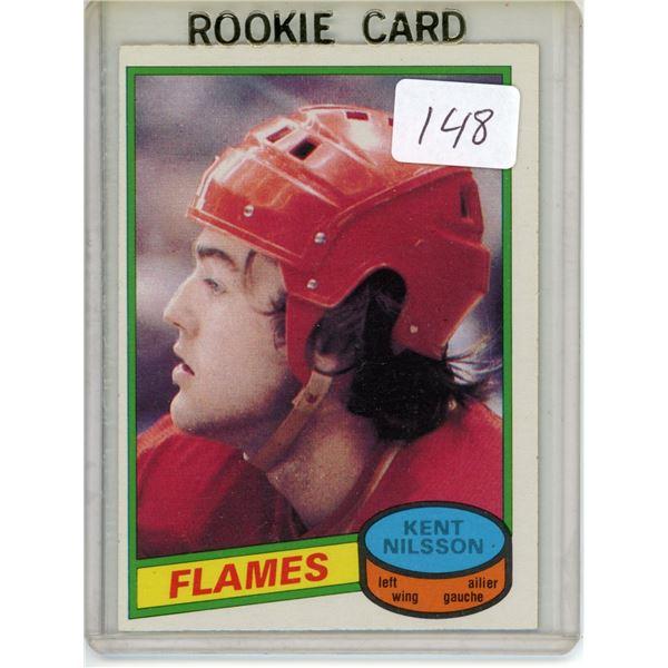 Gradable rookie card - Kent Nilsson #197