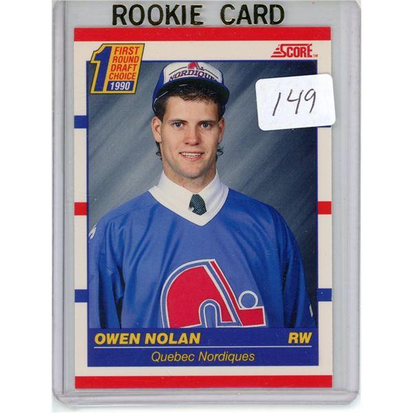 Gradable rookie card - Owen Nolan #435