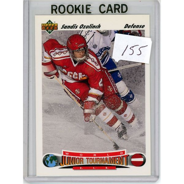 Gradable rookie card - Sandis Ozolinch #661