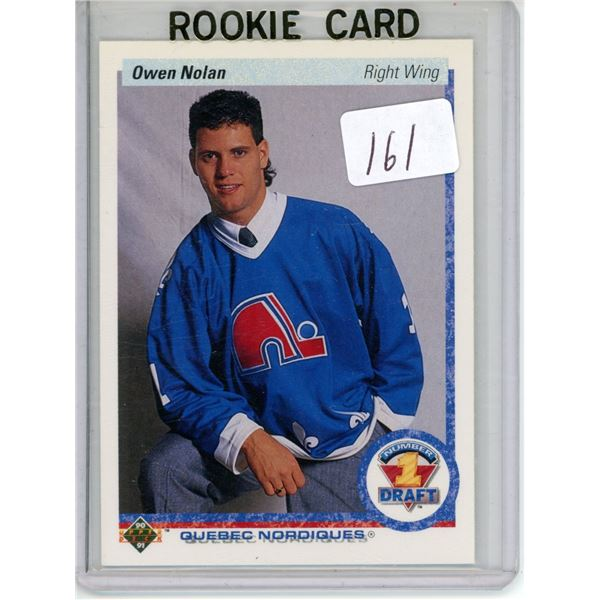 Gradable rookie card - Owen Nolan #352