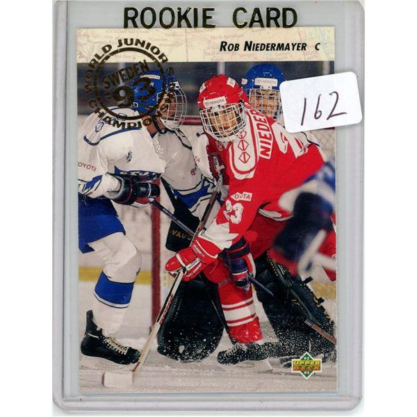 Gradable rookie card - Rob Niedermayer #593