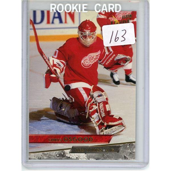 Gradable rookie card - Chris Osgood #308