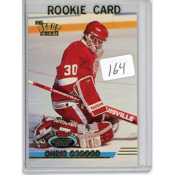 Gradable rookie card - Chris Osgood #350