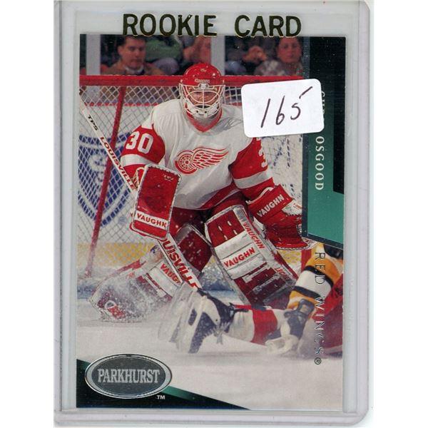 Gradable rookie card - Chris Osgood #329