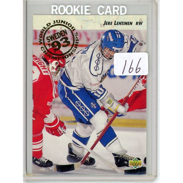 Gradable rookie card - Jere Lehtinen #615