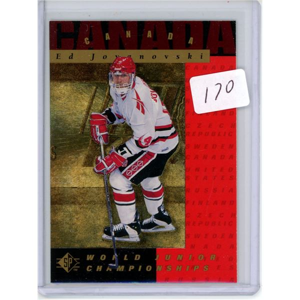 Gradable rookie card - Ed Jovanovski #140