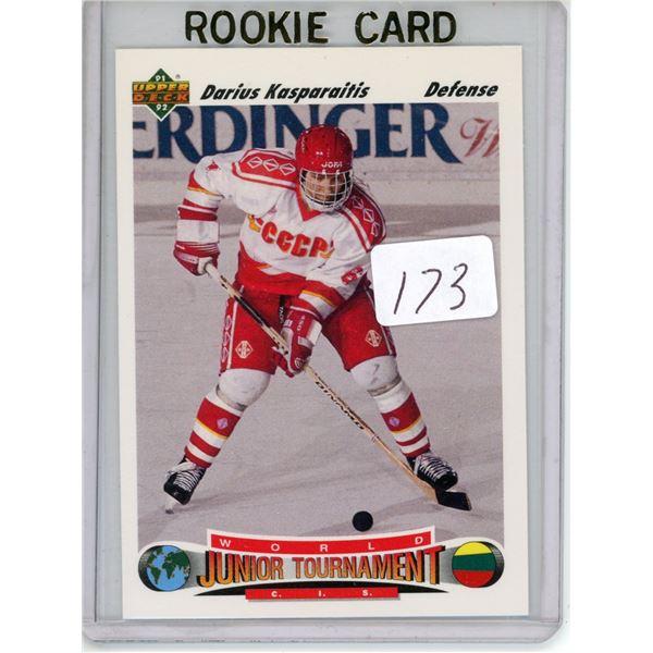 Gradable rookie card - Dariius Kasparaitis #650