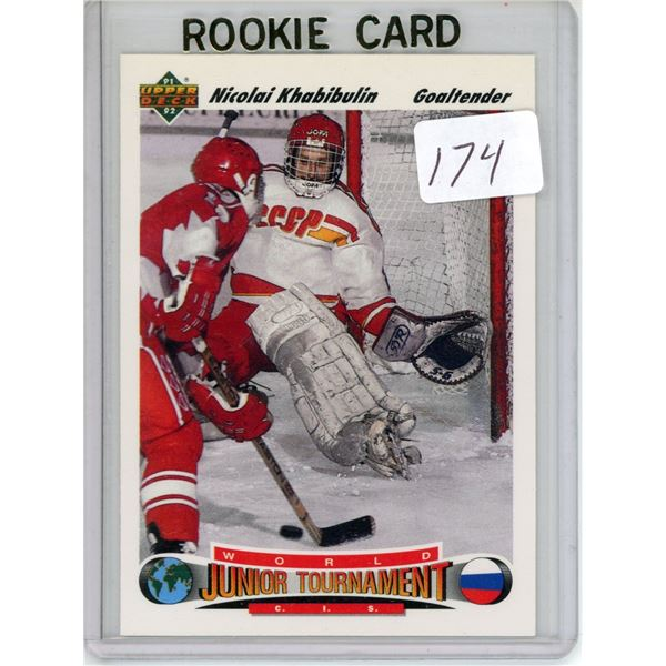 Gradable rookie card - Nicolai Khabibulin #652