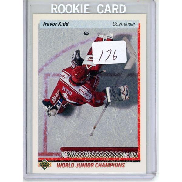 Gradable rookie card - Trevor Kidd #463
