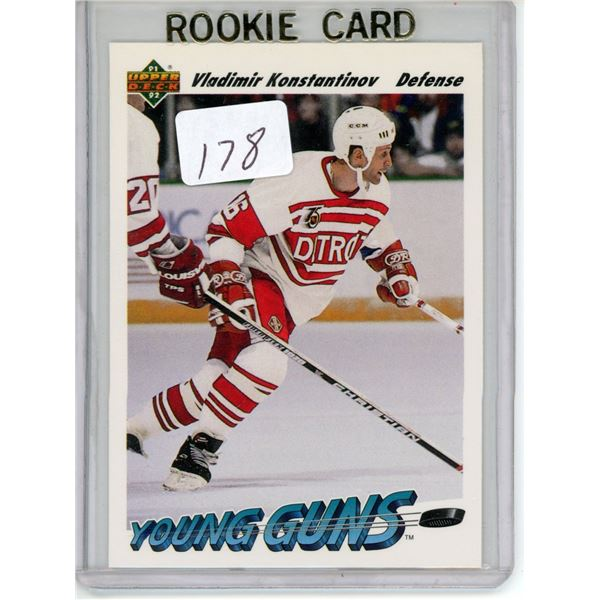 Gradable rookie card - Vladimir Konstantinov #599