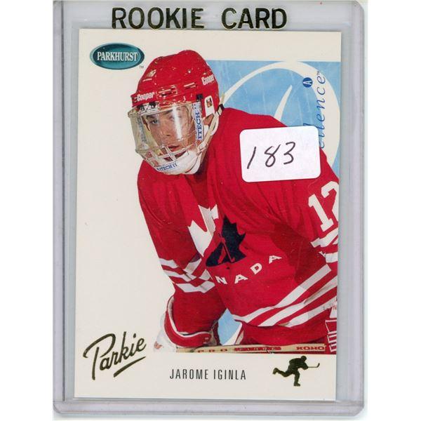 Gradable rookie card - Jarome Iginla SE260