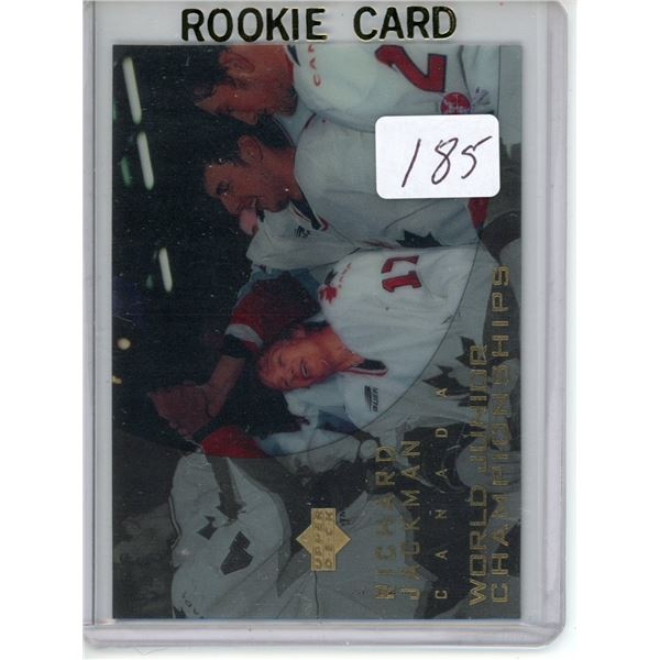 Gradable rookie card - Richard Jackman #133