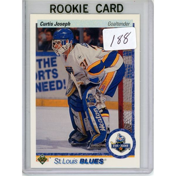 Gradable rookie card - Curtis Joseph #175