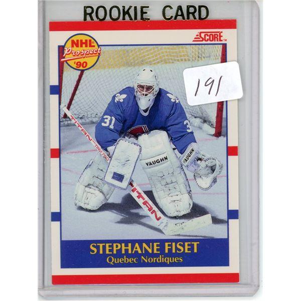 Gradable rookie card - Stephane Fiset #415