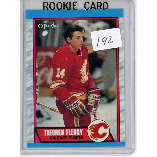Gradable rookie card - Theoren Fleury #232