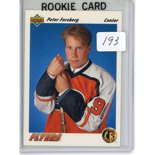 Gradable rookie card - Peter Forsberg #64