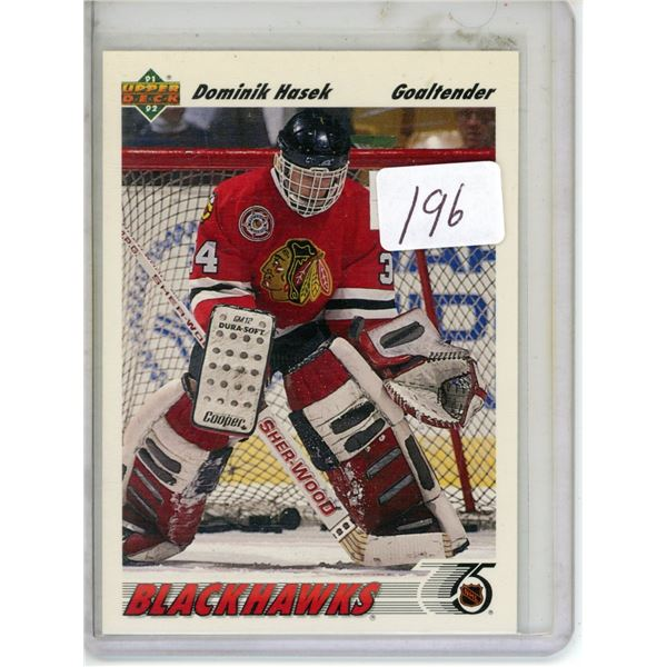 Gradable rookie card - Dominik Hasek #335
