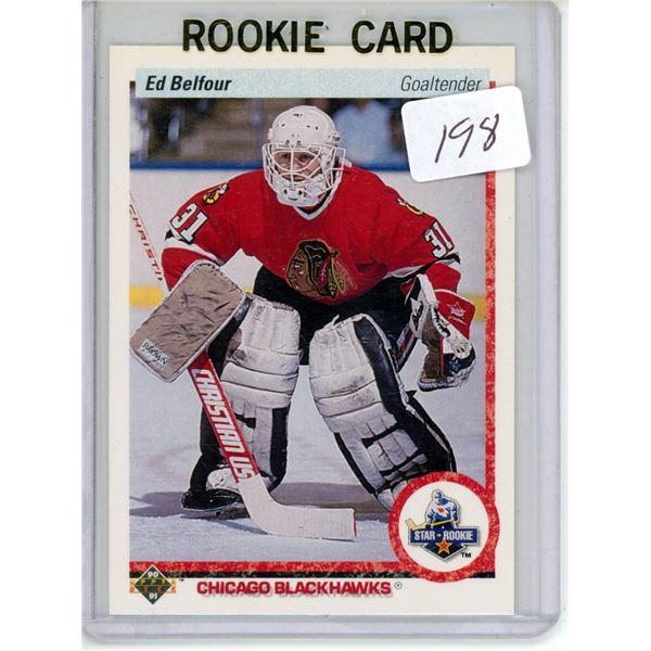 Gradable rookie card - Ed Belfour #55