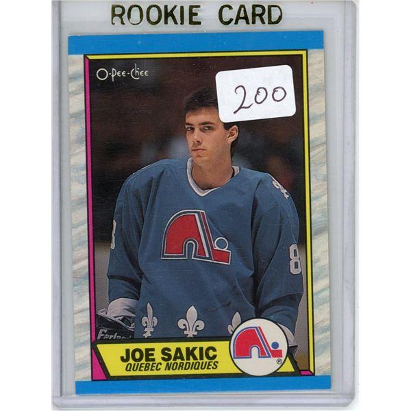 Gradable rookie card  - Joe Sakic OPC #113