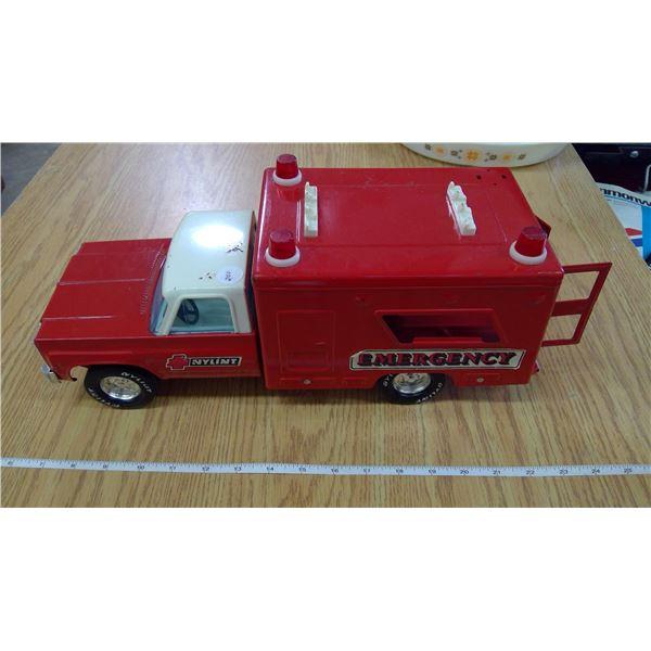 All metal Emergency vehicle
