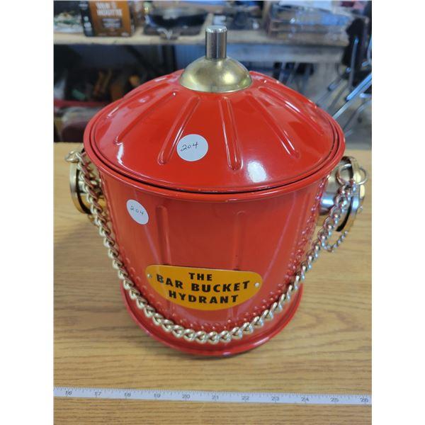 The Bar Bucket Hydrant - (50 yr old gift)