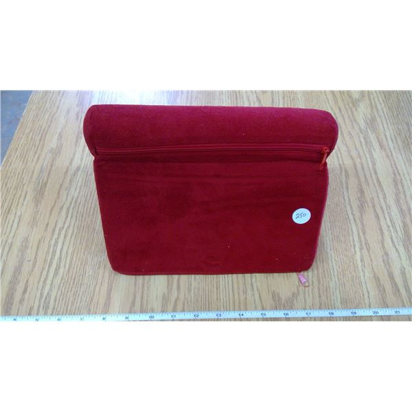 Red Velvet covered  IPAD Pillow pad