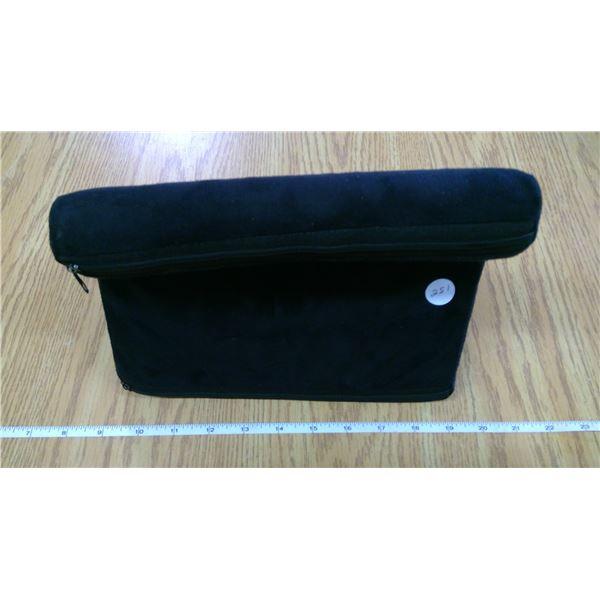 Black Velvet covered IPAD Pillow pad